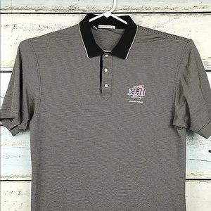 Super Bowl Polo Shirt XLII 2008 Mens Large